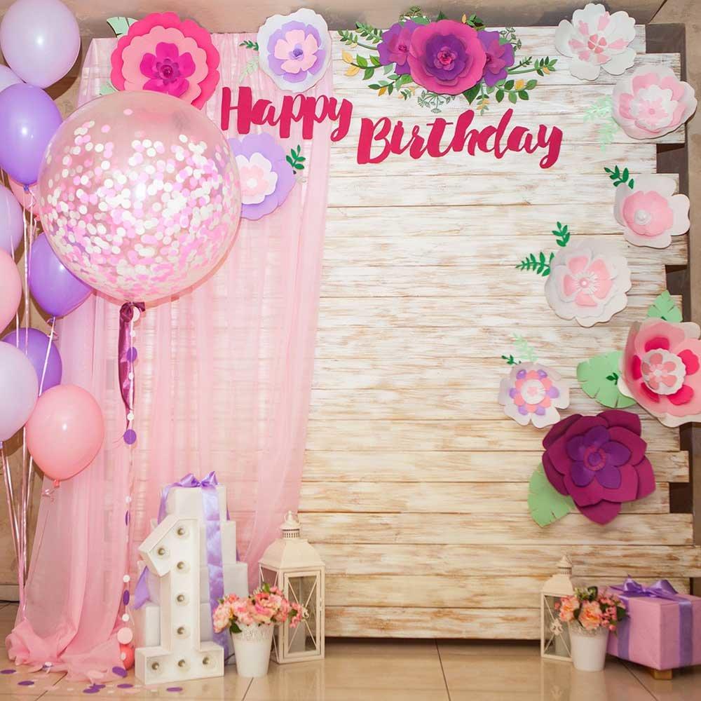 Фотозона с днем рождения