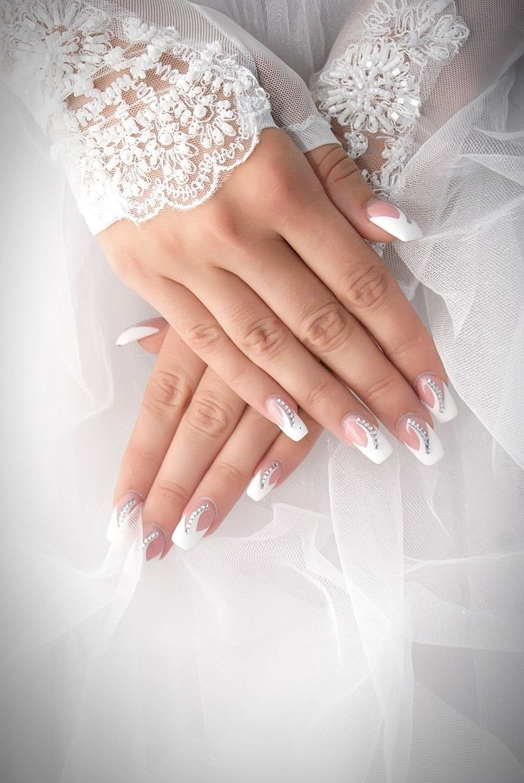 Белый френч на свадьбу фото