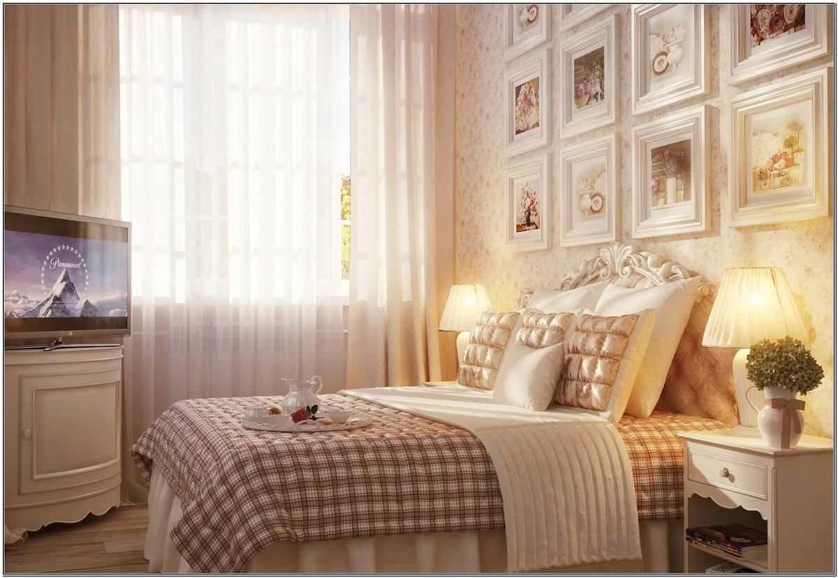 Спальня стиль прованс фото интерьер своими руками 799