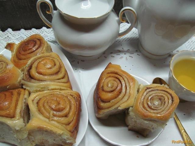 Пошаговый рецепт булочек синабон с корицей пошаговый рецепт с