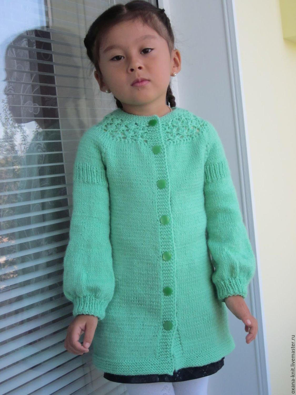 Вязание крючком кардиган для девочки 6 лет 46