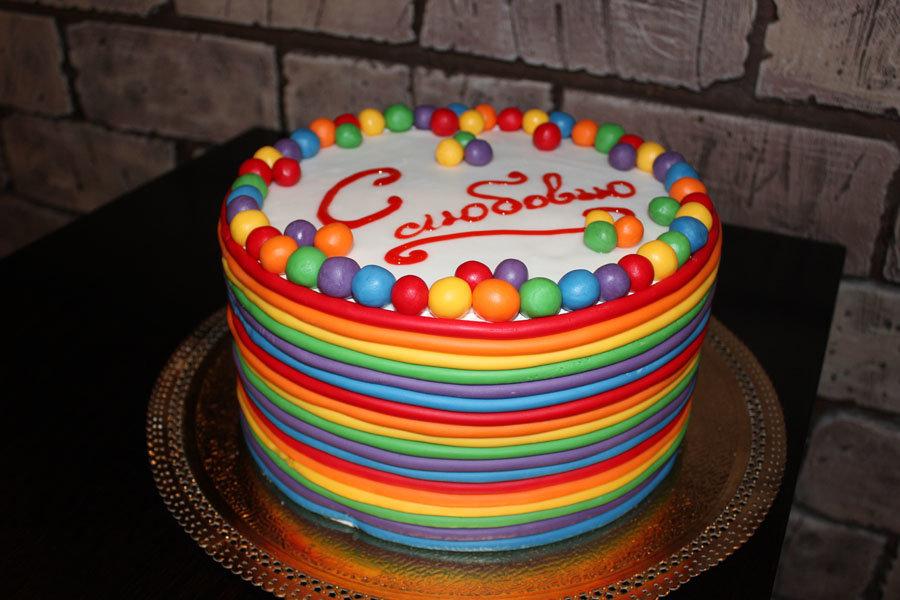 Украшение торта на день рождения ребенка своими руками 53