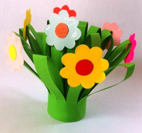 Поделки к дню рождения цветы