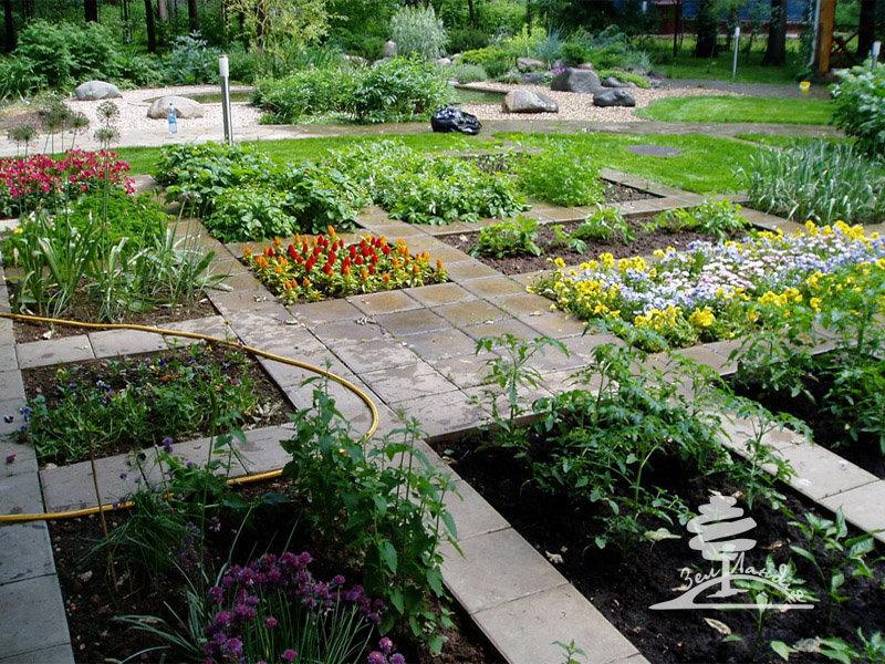 Как сделать сад из огорода 43