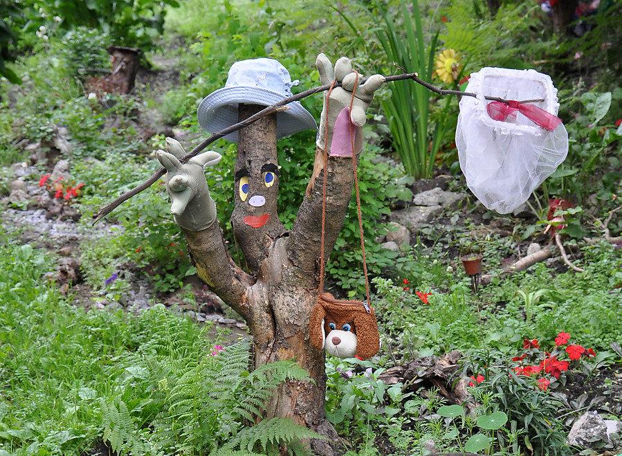 Поделки для дачи сада и огорода своими руками 16