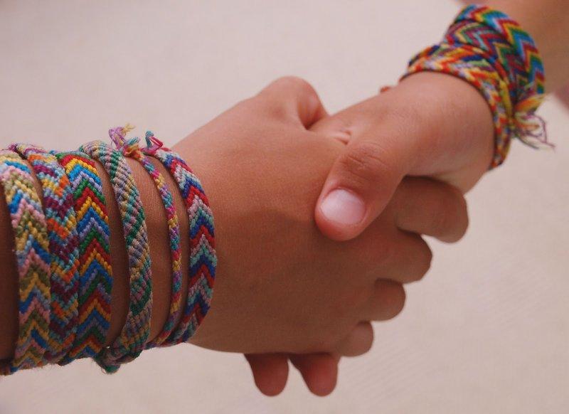 Мужской браслет своими руками из нитки