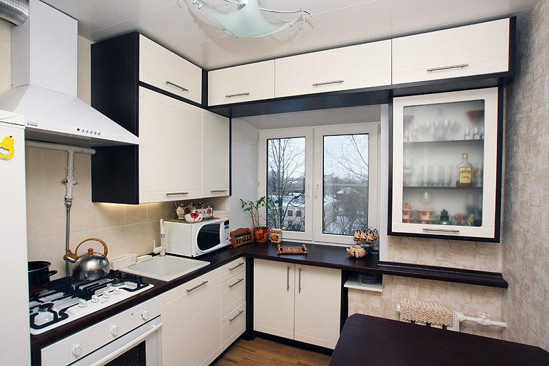 Дизайн кухни гостиной в хрущевке 2017 современные идеи