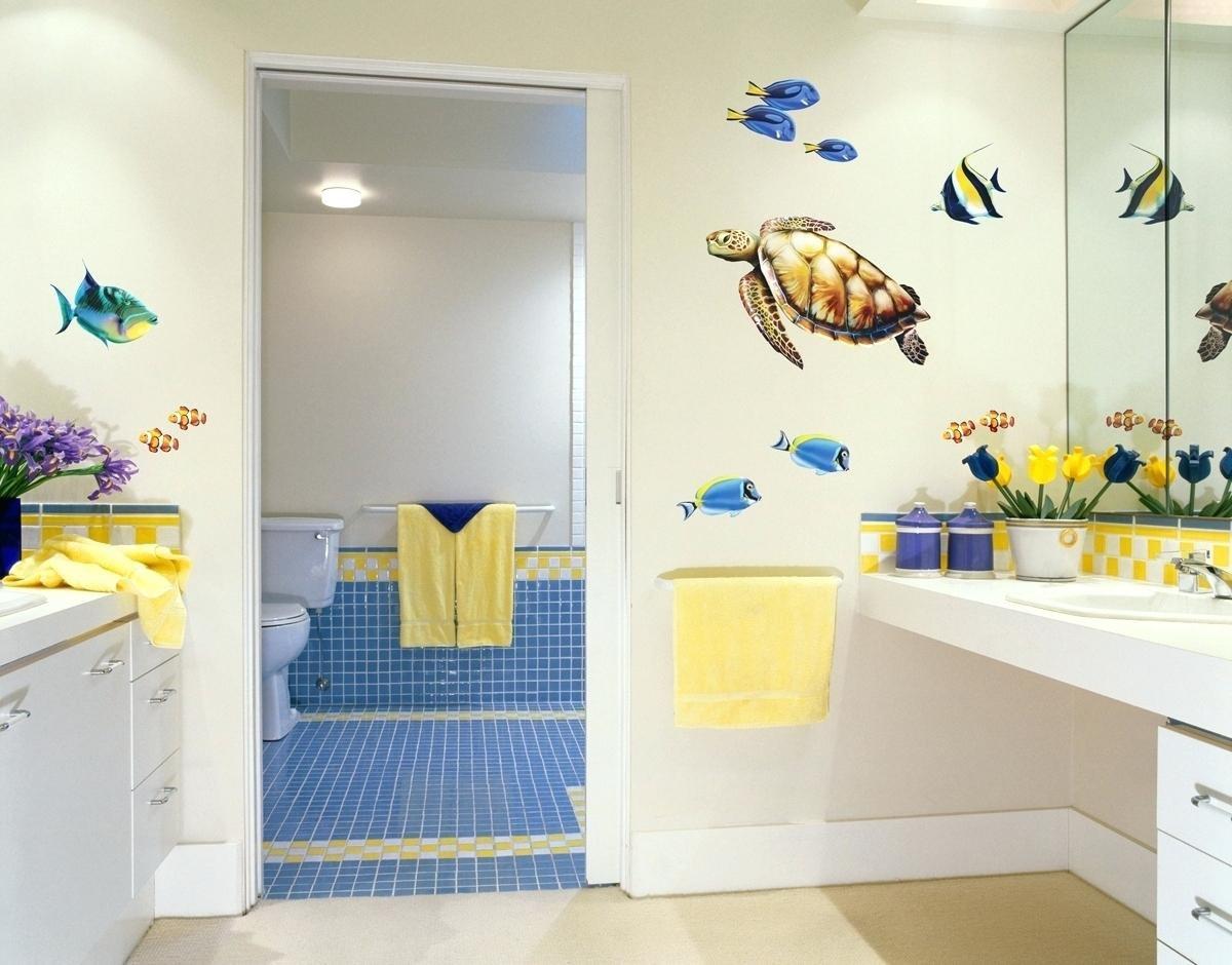 Как украсить ванную комнату своими руками (39 фото идеи) 42