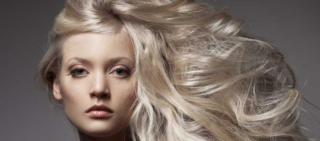 Жемчужно пепельный блондин цвет волос