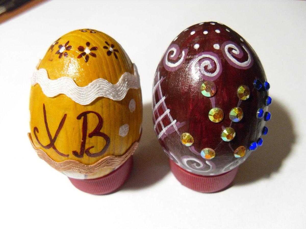 Поделки на пасху из яиц