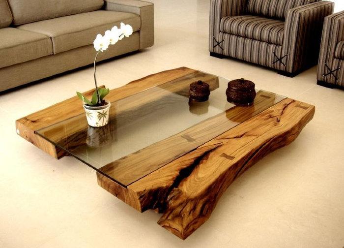 Оригинальная мебель из дерева своими руками фото