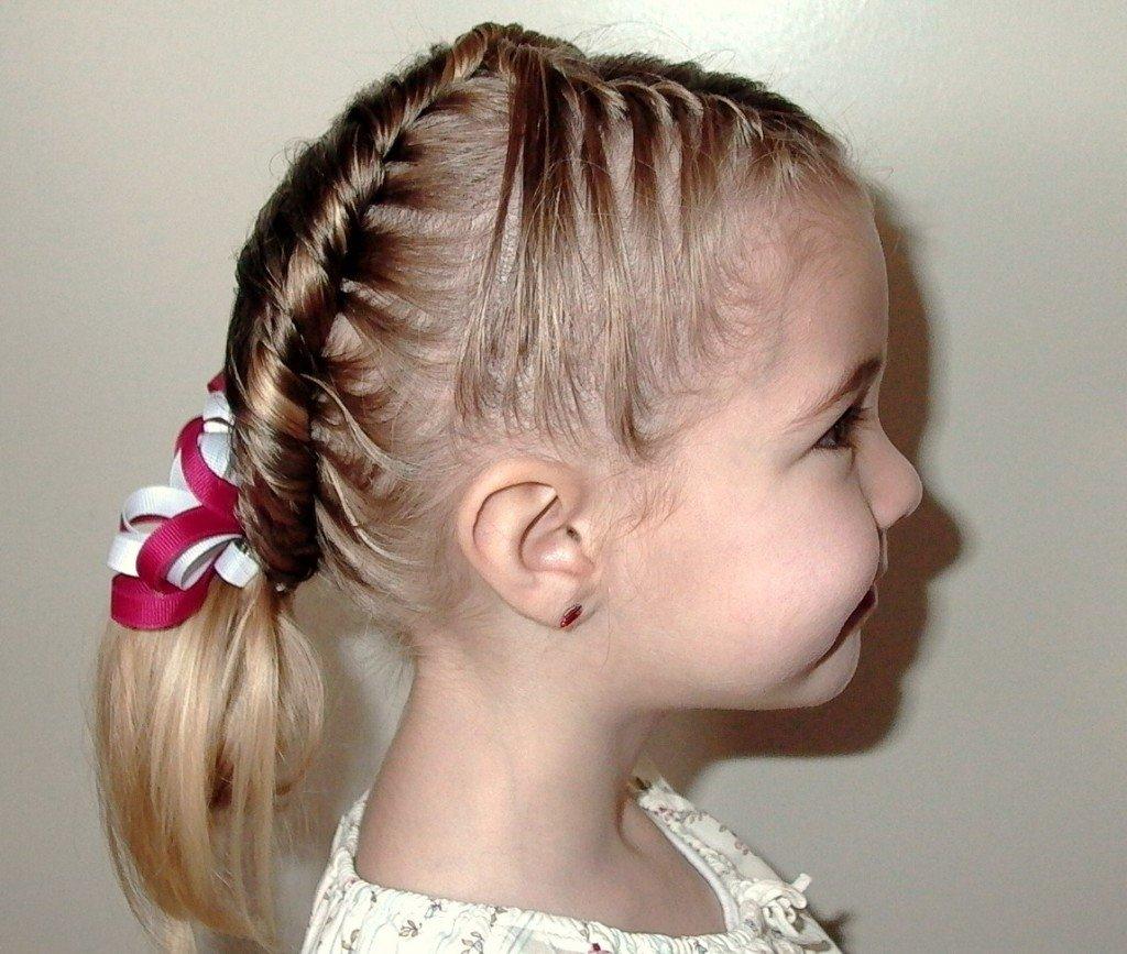 Простые причёски для детей