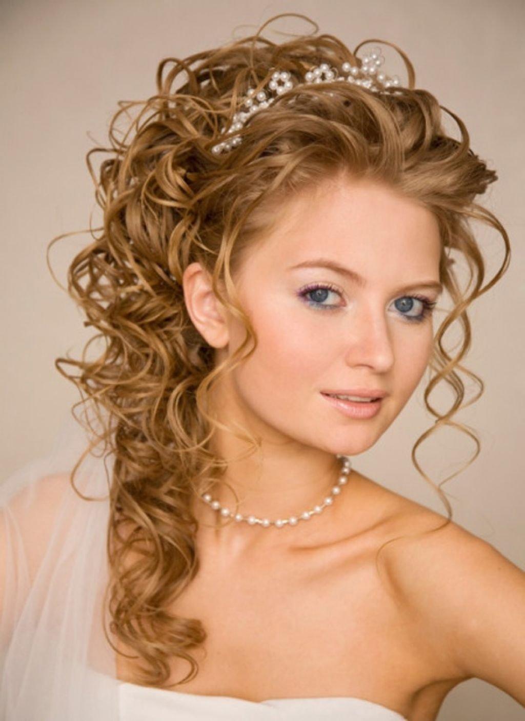 Прическа на длинные волосы фото локоны невеста7