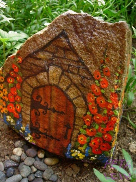 Домик на камнях своими руками 391