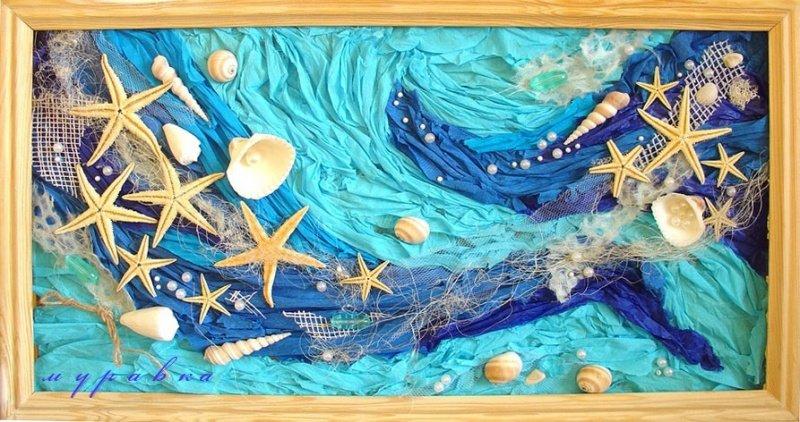 Картина морская тематика своими руками 45
