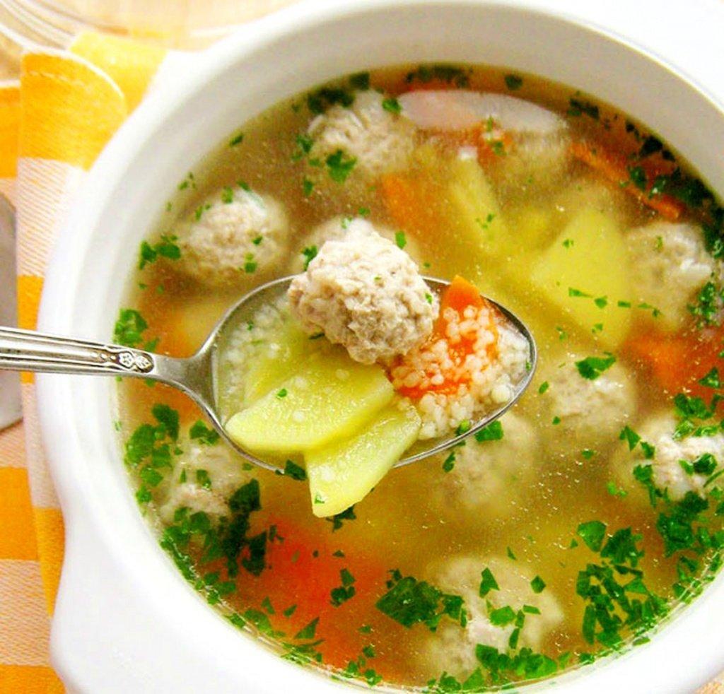 Суп с фрикадельками и картошкой рецепт