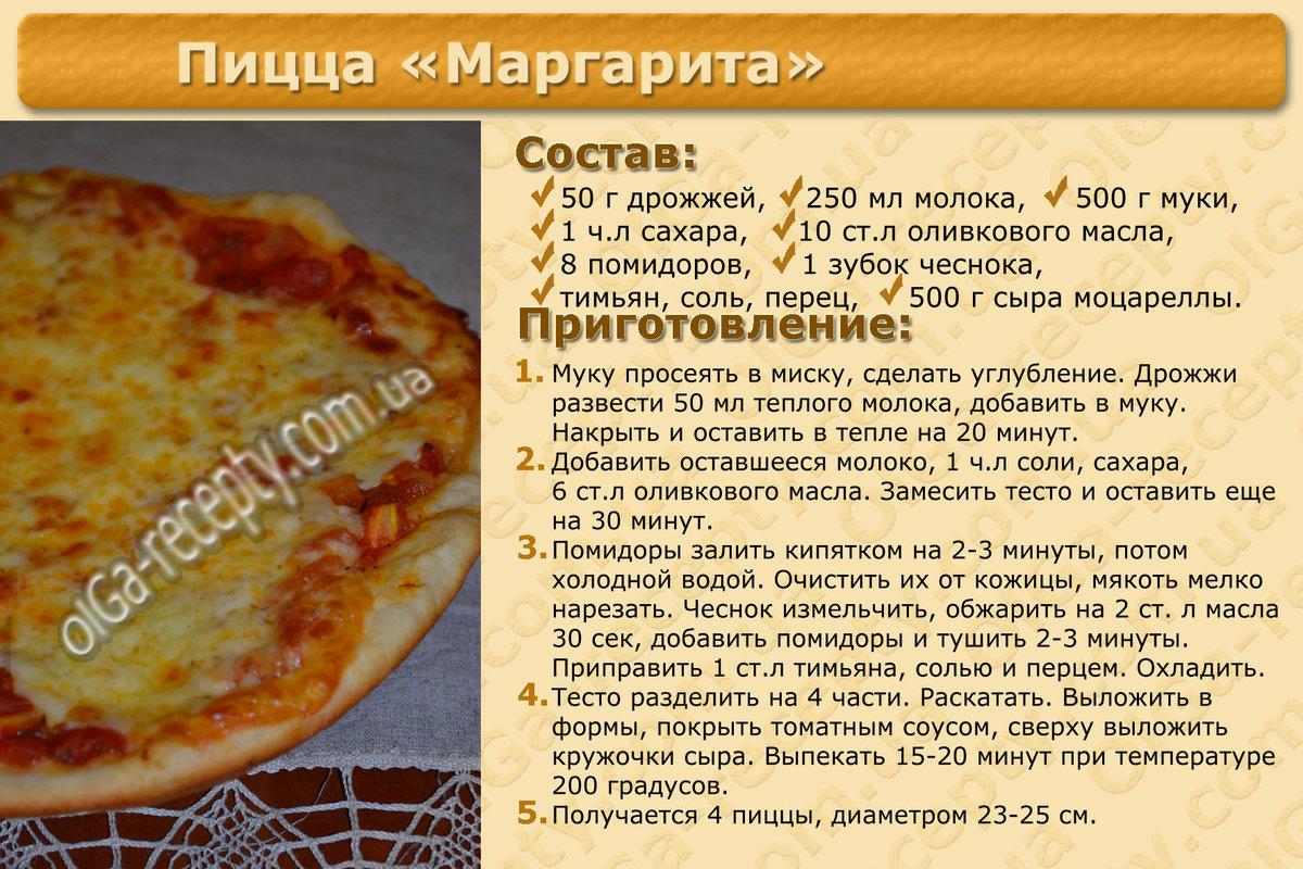 Пицца быстрого приготовления в духовке пошагово