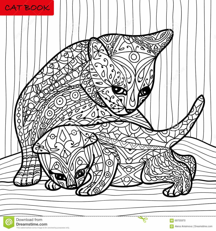 Распечатывать раскраски животные в узорах