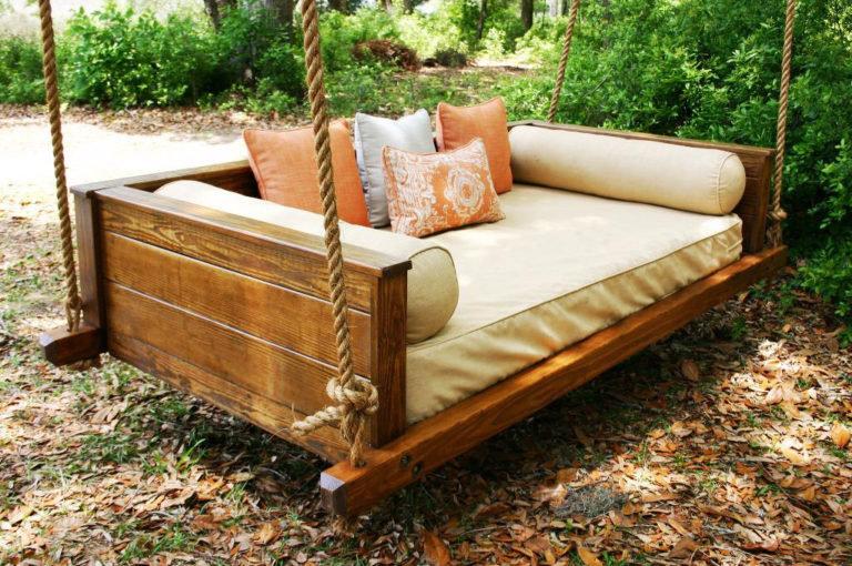 Деревянный диван своими руками 42