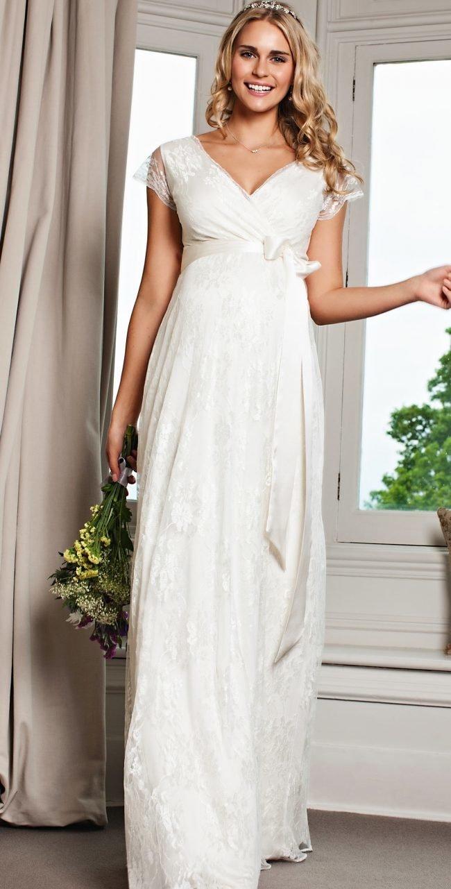 Платье для свадьбы беременным 25