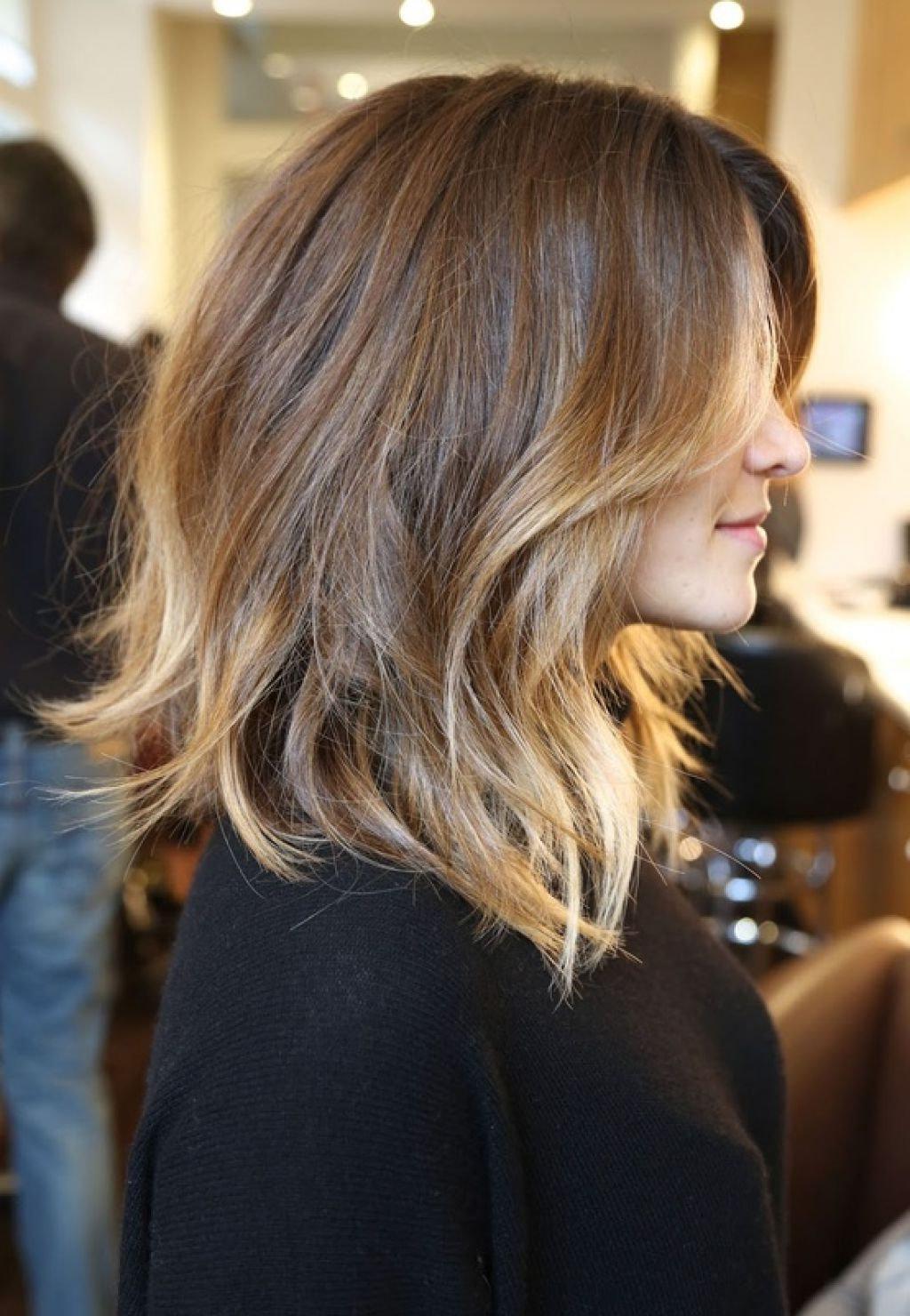 Омбре шатуш балаяж на короткие волосы фото