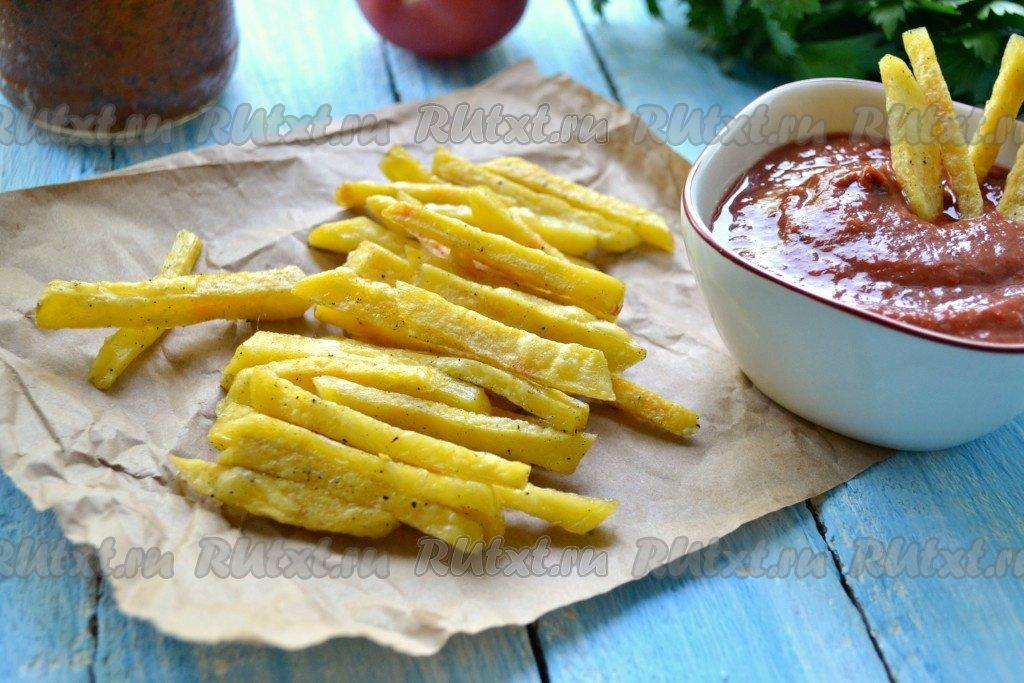 Картошка фри в микроволновке рецепт
