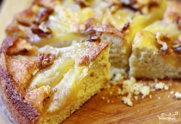 Пирог простой с грушами в мультиварке рецепты с фото