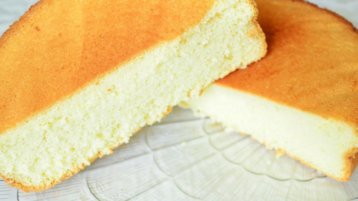 Классический бисквит в мультиварке рецепты с фото пошагово