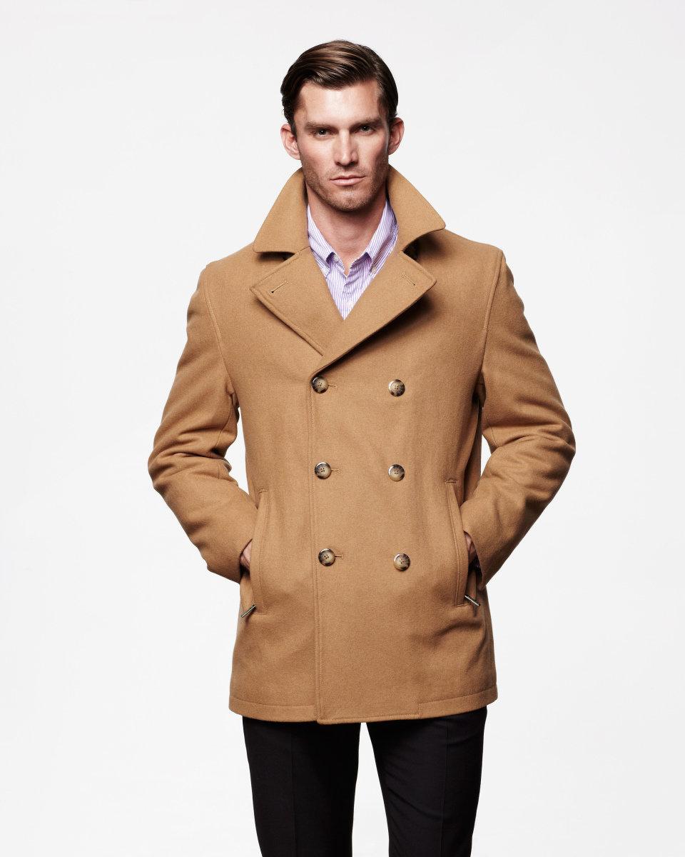 Mens fashion wool coat 81