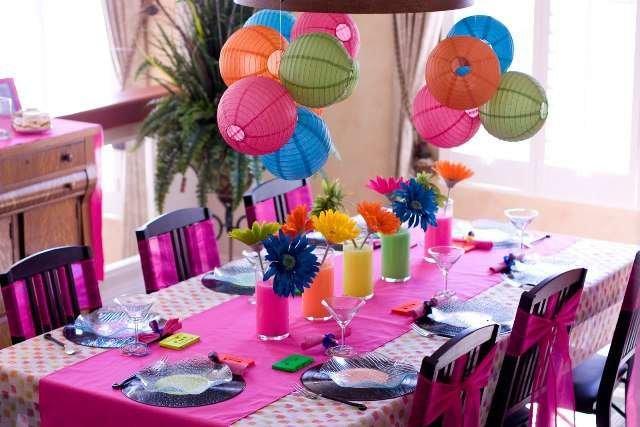 Идеи для дня рождения в домашних условиях