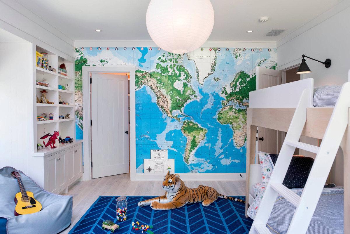 Дизайн для мальчика спальни фото 2018 современные идеи