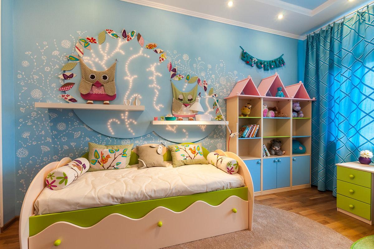 Трафареты для стен в детскую комнату изготовление и