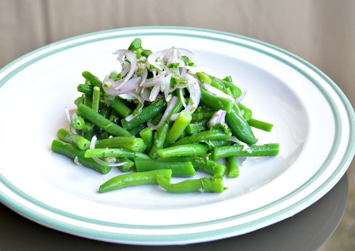 Рецепт салата из зеленой фасоли 3