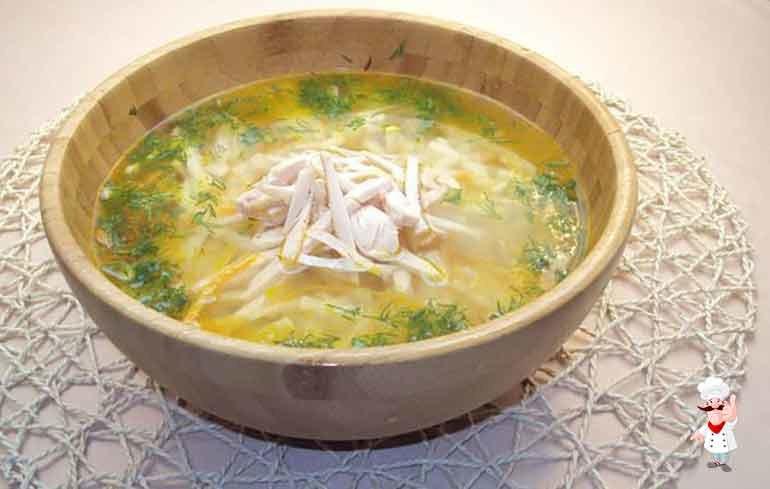 Суп лапша с курицей в мультиварке рецепт с фото пошагово