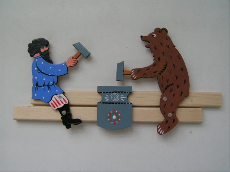 Богородская игрушка как сделать своими руками