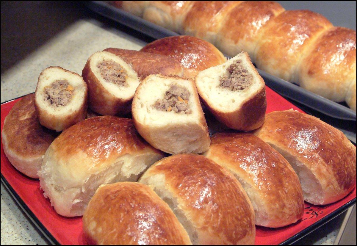Пирожки с рисом и мясом пошаговый рецепт