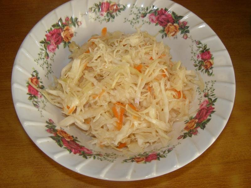 Квашеная капуста рецепт фото пошагово