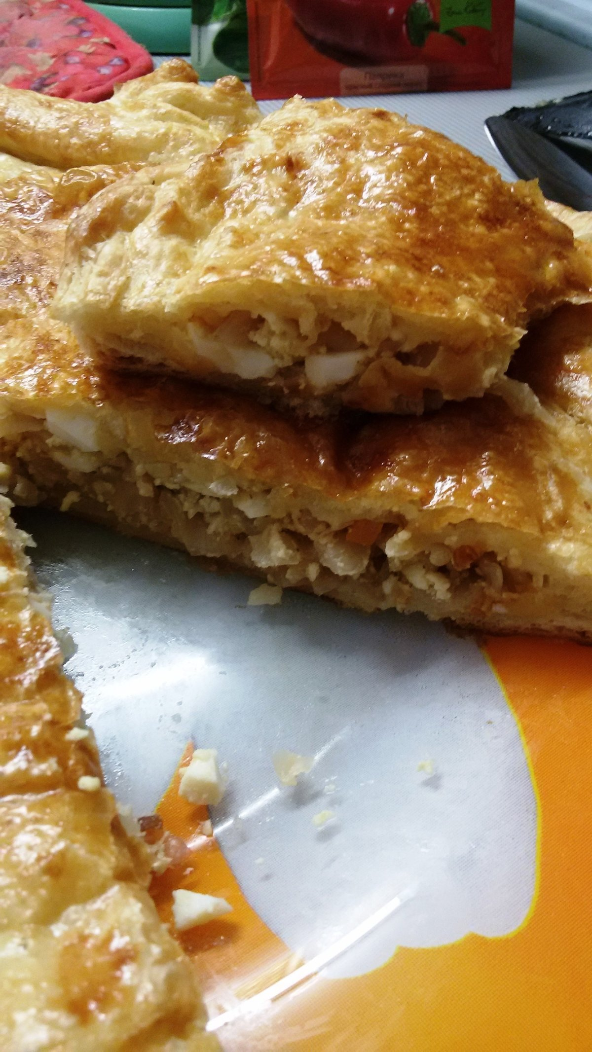 Легкий пирог с капустой рецепт