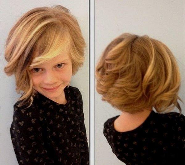 Вьющаяся укладка на короткие волосы