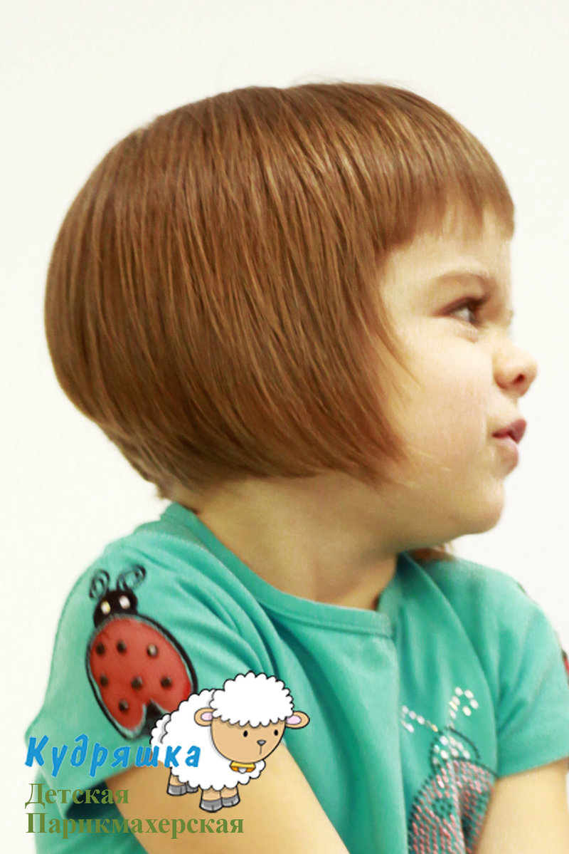Стрижка короткая дети фото