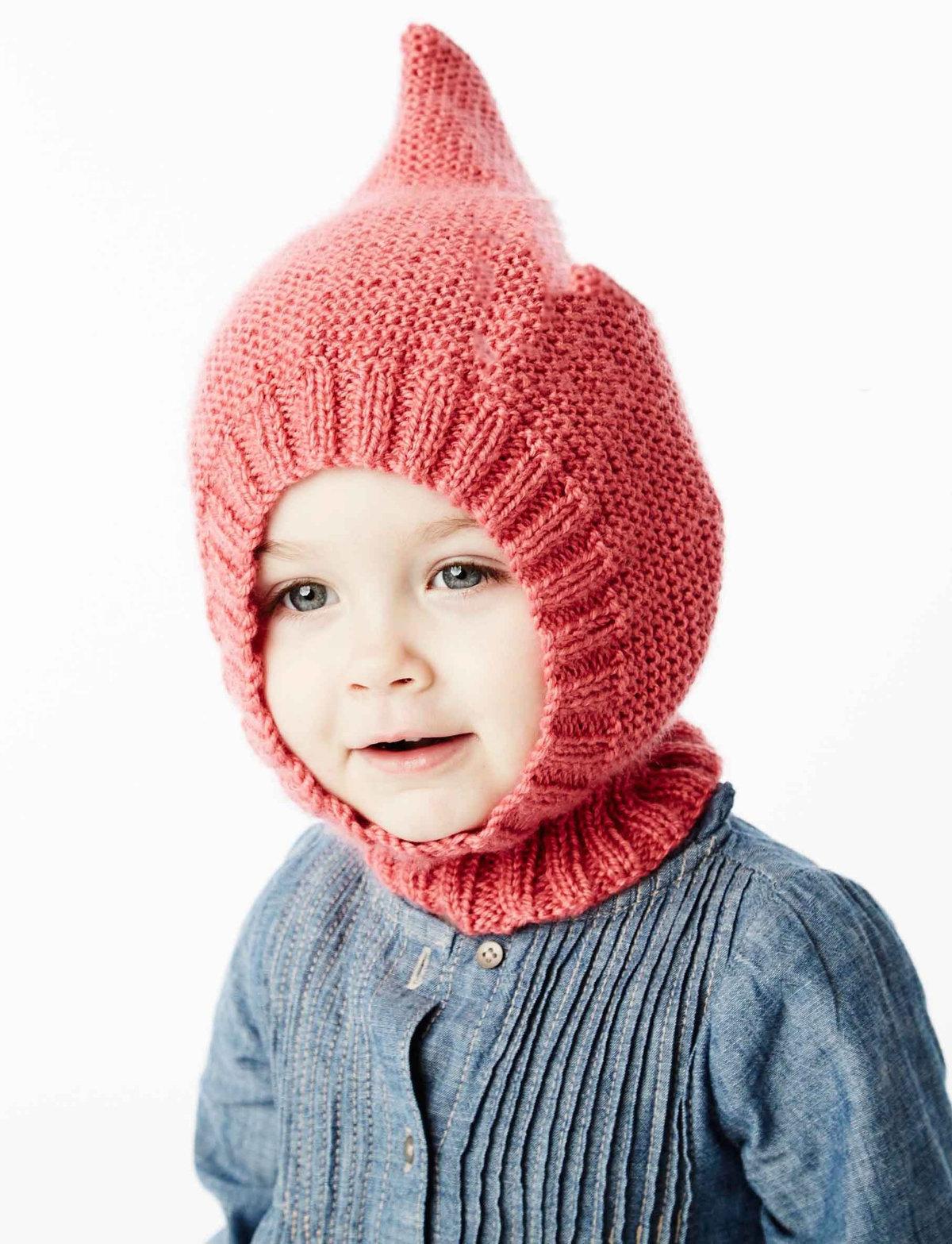 Вязание шапки трубы для девочек