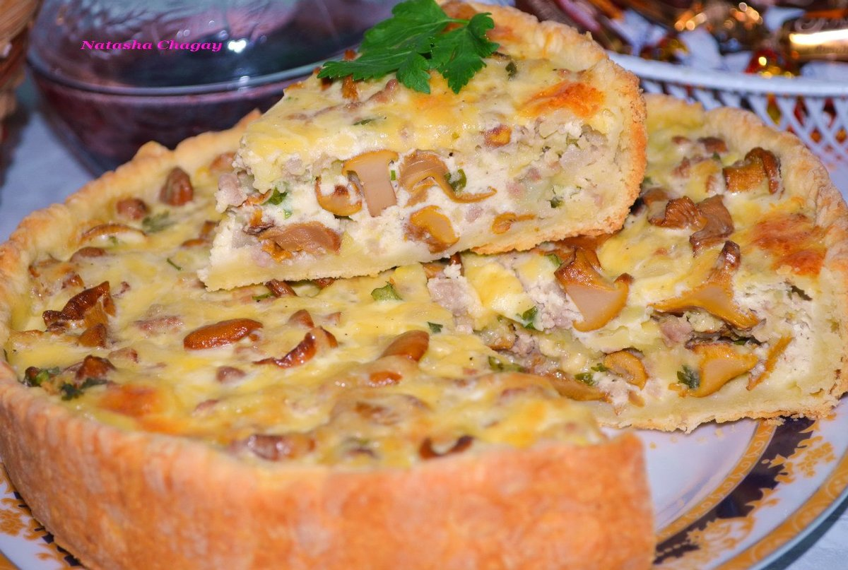 Пирожки с солеными грибами в духовке пошаговый рецепт с фото