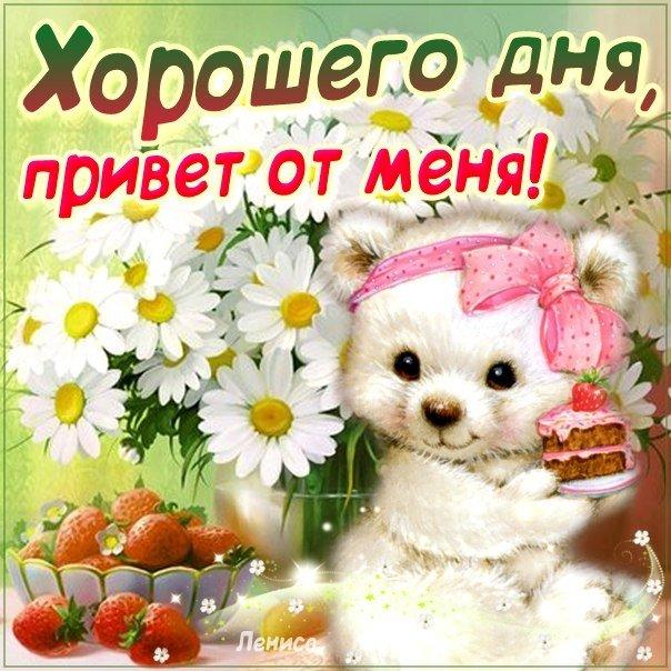 Пожелать с добрым днем любимой