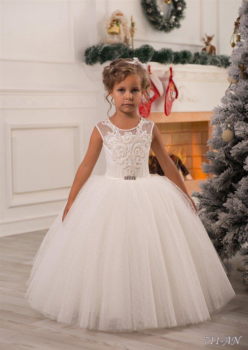 Свадебные платья для маленьких девочек