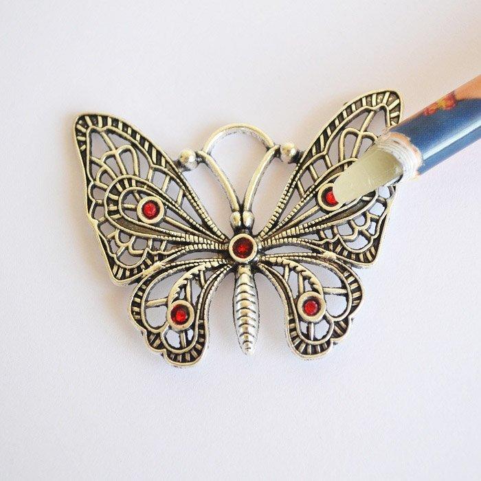 Бабочка своими руками из проволоки 6