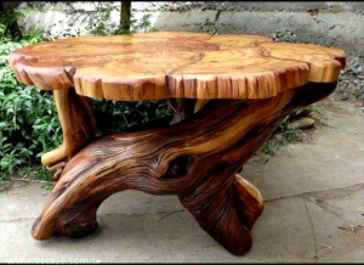 Оригинальная мебель из дерева своими руками фото 53