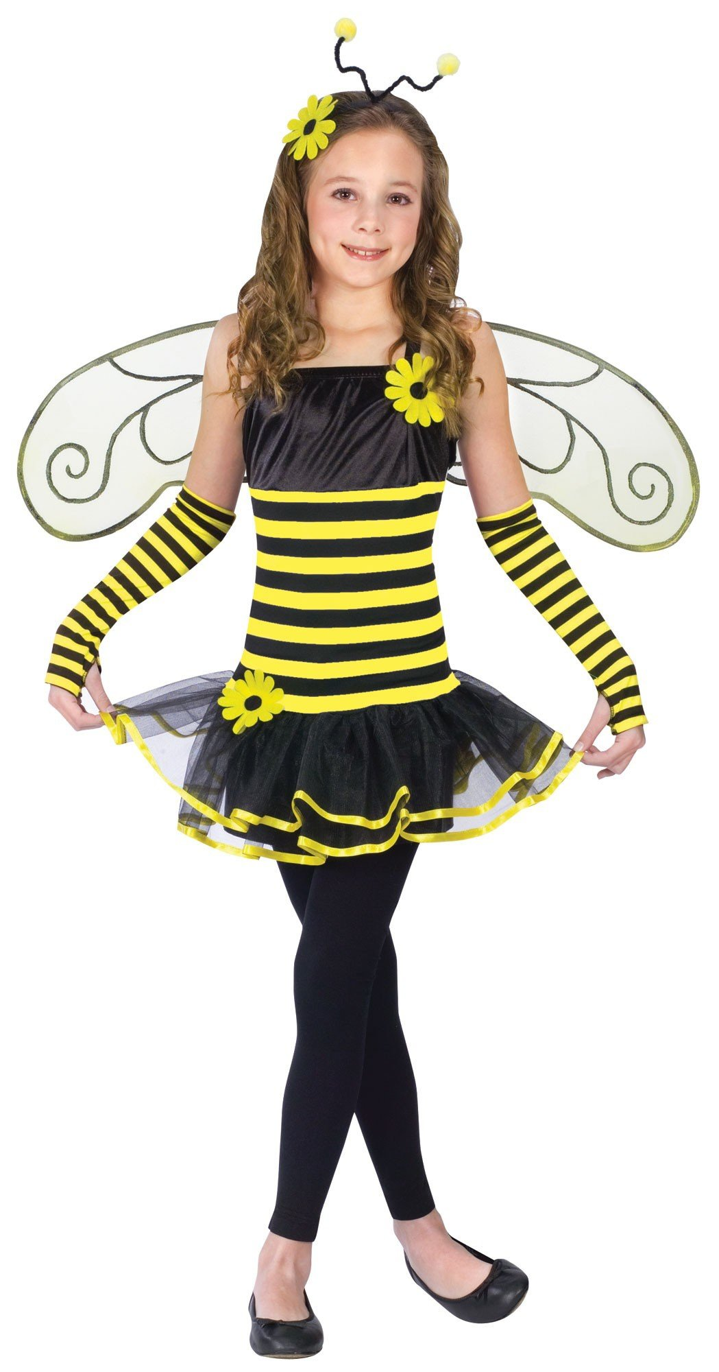 Как сделать костюм пчелки для девочки