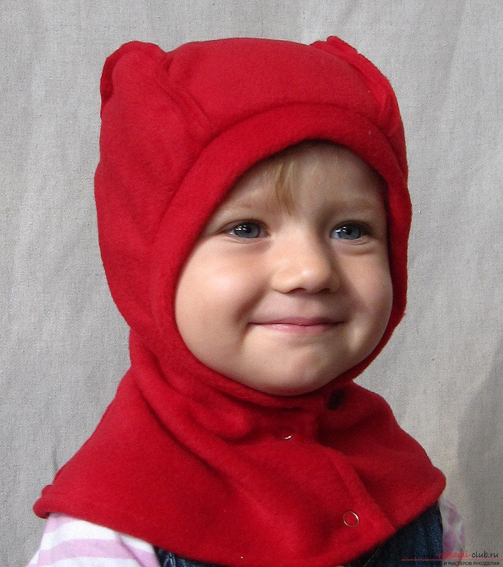 Сшить ребенку шапку фото
