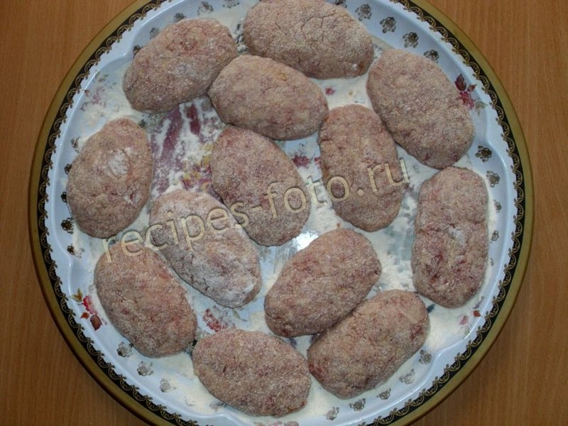 Котлеты рецепт с пошагово без хлеба