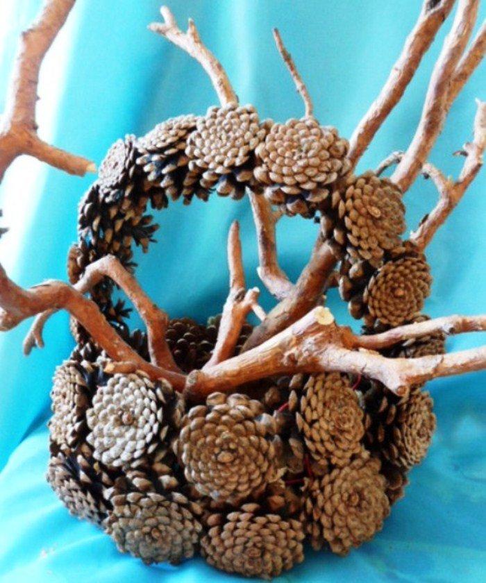 Поделки из природного материала своими руками фото на тему весна